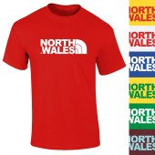 North Wales Spoof Logo T-Shirt - to 2XL