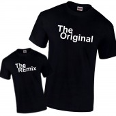 The Original & The REmix Gift Father Son Daughter Pair of PREMIUM T-Shirts