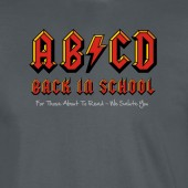 AB/CD For Those About to Read Ac/Dc Spoof ParodyT-Shirt - up to 2XL