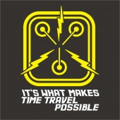 Back to the Future Inspired Flux Capacitor T-Shirt