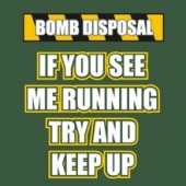 Army Bomb Disposal - Stupid Tee