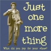 Columbo Just One More Thing T-Shirt - 3XL to 5XL