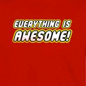 Everything Is Awesome Lego Inspired T-Shirt