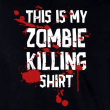 This Is My Zombie Killing Halloween Dead Costume Trick Or Treat Walking T-Shirt