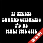 If Stress Burned Calories Funny T-Shirt