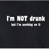 I'm Not Drunk T-Shirt 16 Colours - to 2XL