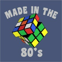 Made in the 80's Rubik's Cube T-Shirt