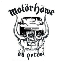 Motorhome On Petrol Spoof Tee