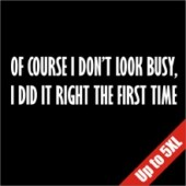 I Did It Right The First Time Funny T-Shirt