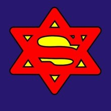 Superjew - Funny Superman Spoof T-Shirt