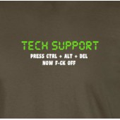 Tech Support T-Shirt 16 Colours - to 2XL