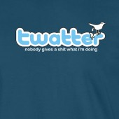 Twatter Spoof Twitter Funny T-Shirt