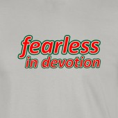 Wrexham AFC Limited Edition Fearless in Devotion Luxurious Flock Shirt Sports Grey - to 5XL