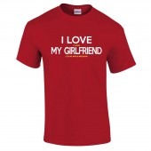 Wrexham AFC  Valentines Day Girlfriend T-Shirt For Him - to 5XL