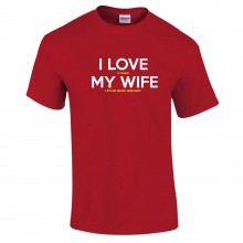 Wrexham AFC  Valentines Day Wife T-Shirt For Him - to 5XL
