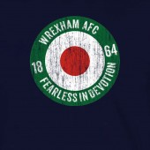 Wrexham AFC Fearless in Devotion Target HOODIE  - to 5XL