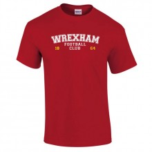 Wrexham AFC Limited Edition Varsity T-Shirt - to 5XL