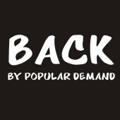 Back By Popular Demand Funny Ladies T-Shirt