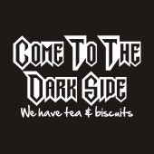 Come to the Dark Side Funny Ladies T-Shirt